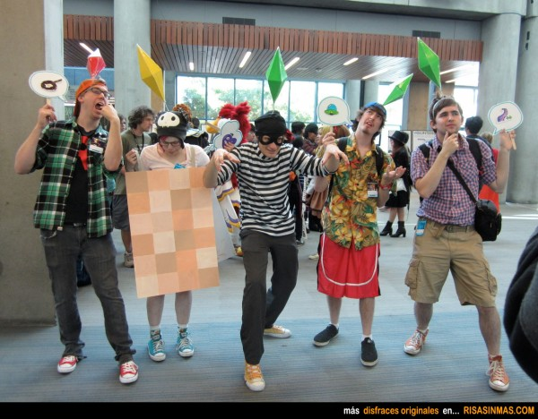 Disfraces originales: Los Sims 3