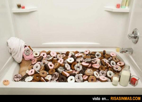El baño más dulce