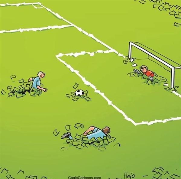 El fútbol de hoy en día