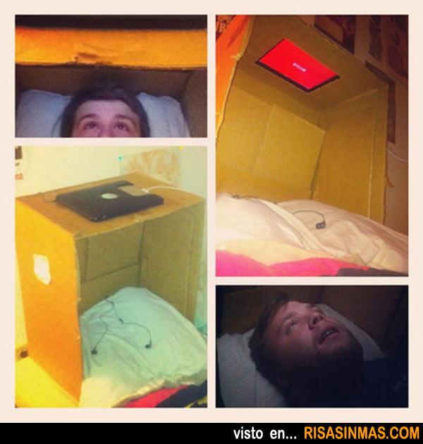 El invento del siglo: para ver la televisión tumbado en la cama