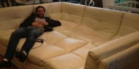 El mejor sofá para ver el fútbol