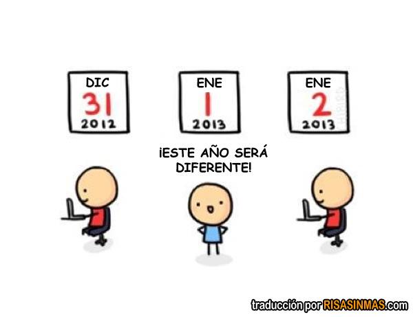 Este año será diferente