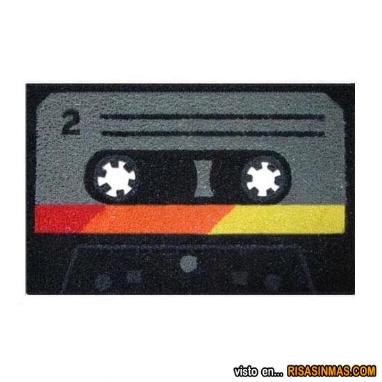 Felpudos originales: Cassette