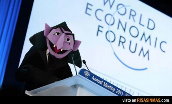 Imagen del Foro Económico Mundial 2013