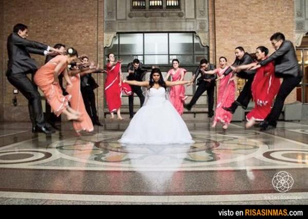 Fotos de boda originales: Matrix