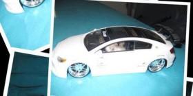 Hamster arreglando su coche