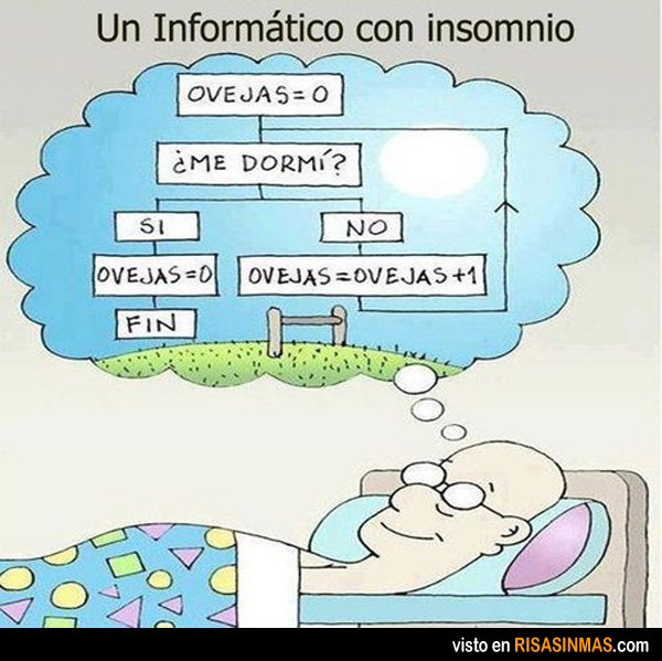 Un informático con insomnio