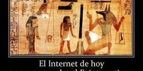 Internet y Antigüo Egipto