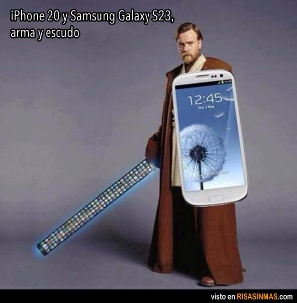 iPhone 20 y Samsung Galaxy S23