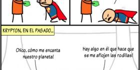 Krypton, en el pasado...