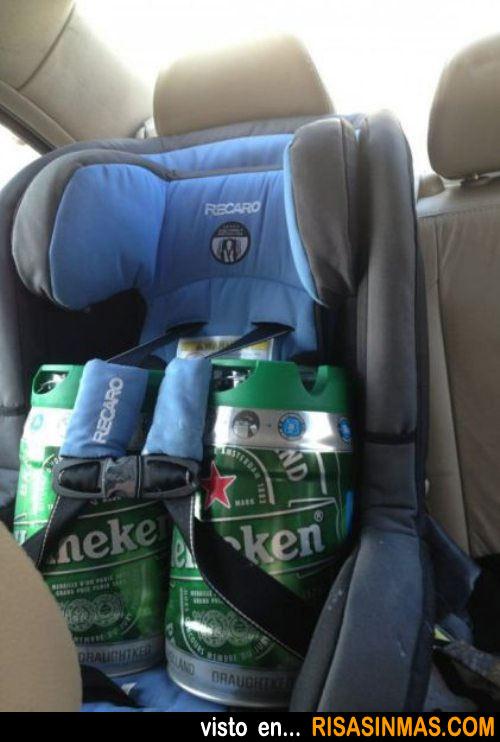 La cerveza, la cerveza para mi es como si fuera un hijo