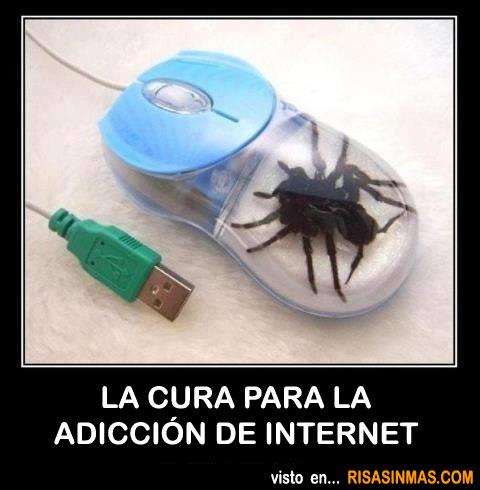 La cura para la adicción de internet