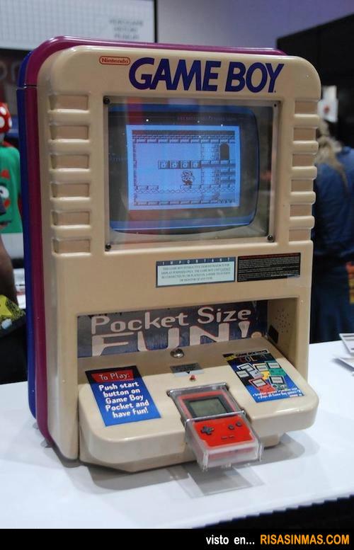 La máquina de GAME BOY que todo fan querría tener