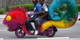 La moto más discreta del mundo