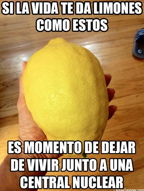 Un limón nuclear