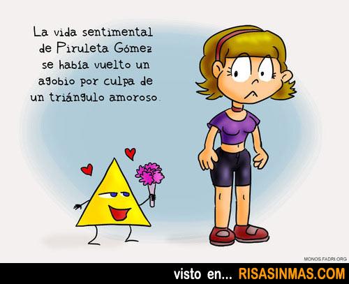 Los problemas de un triángulo amoroso