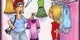 Las mujeres y sus problemas con las tallas