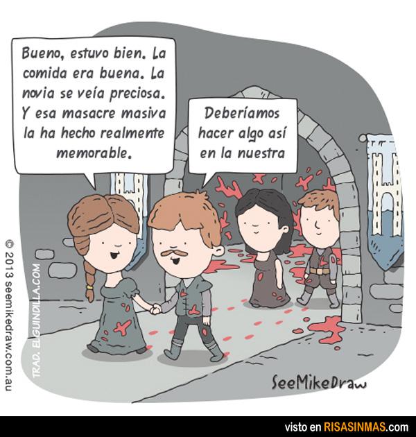 Masacre en Juego de tronos