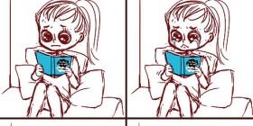 Una mujer leyendo una novela de amor