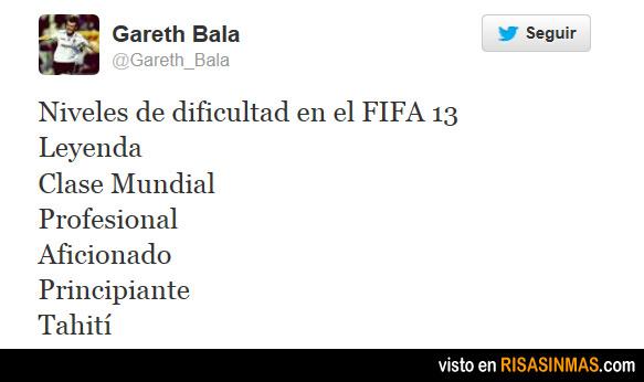 Niveles de dificultad en el FIFA 13
