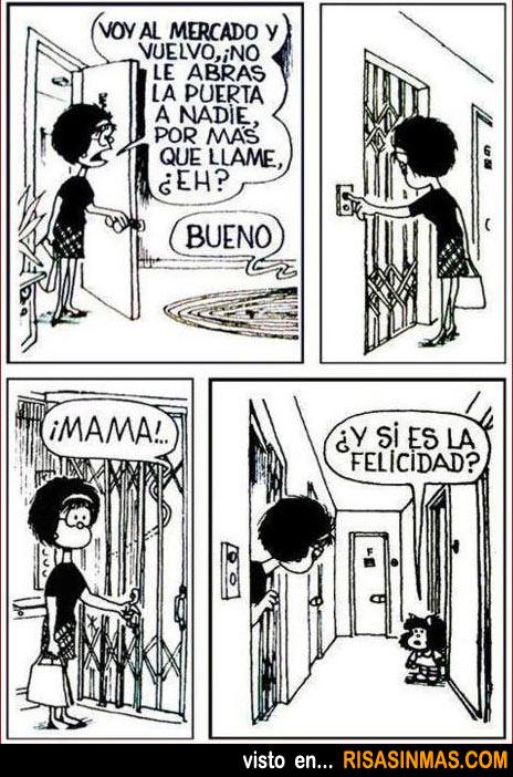 No le abras la puerta a nadie