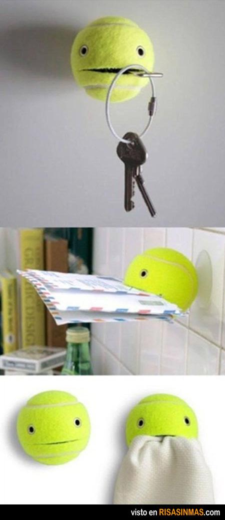 Otros usos de una pelota de tenis