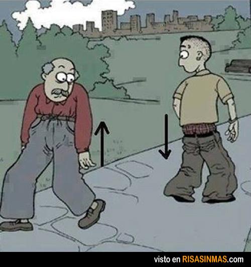 Pantalones según generación
