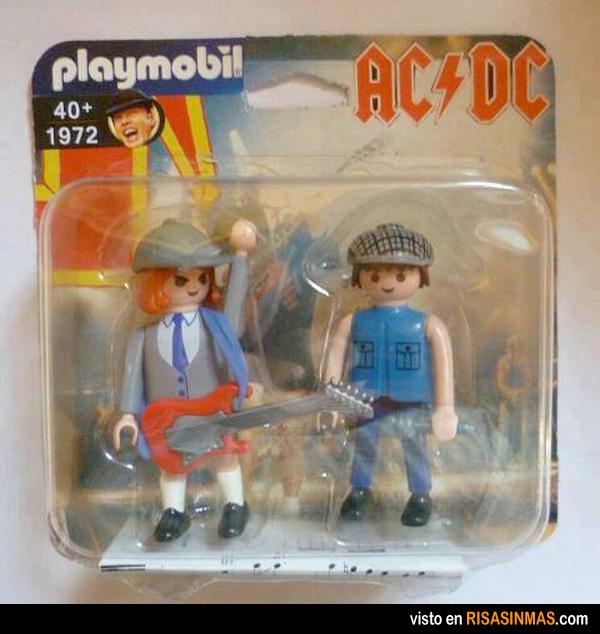 Playmobil AC-DC