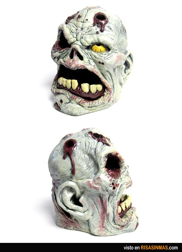 Portalápices zombie