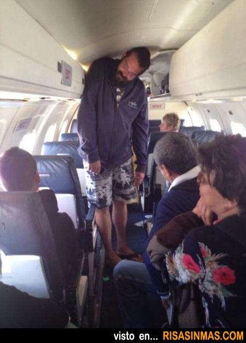 Problemas de altura dentro de un avión