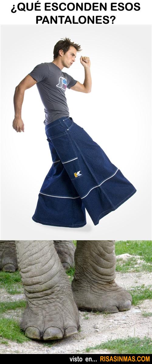 ¿Qué esconden esos pantalones?