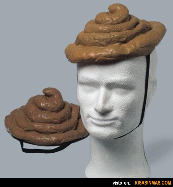 Sombrero con forma de mier...