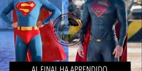 Superman 2013. Al final aprendió