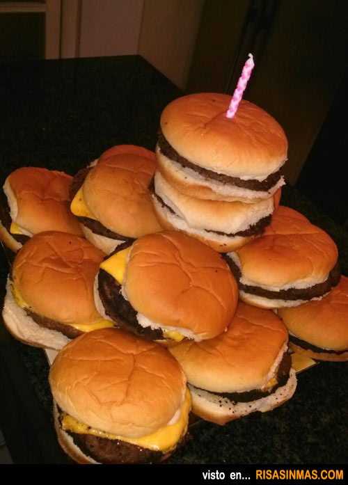 ¿Es mi tarta de cumpleaños?