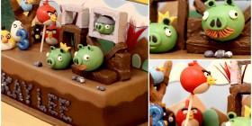 Tartas originales: Angry Birds