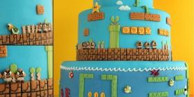 Tartas originales: Super Mario Bros