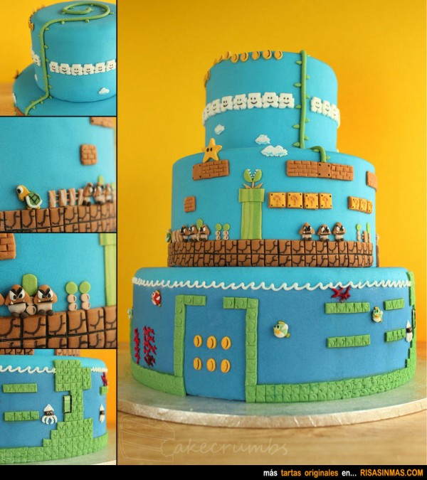 Tartas originales: Super Mario Bros