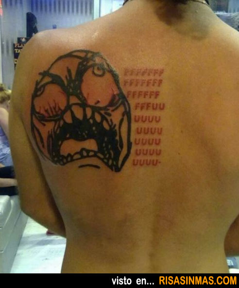 Tatuajes horribles: Meme