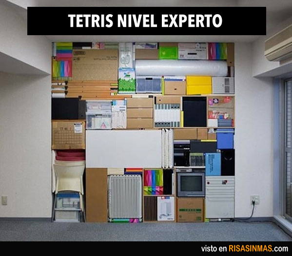 Tetris nivel experto