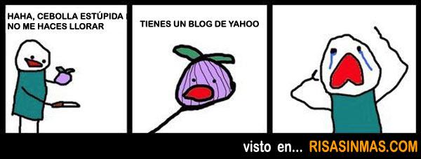 Tienes un blog en Yahoo