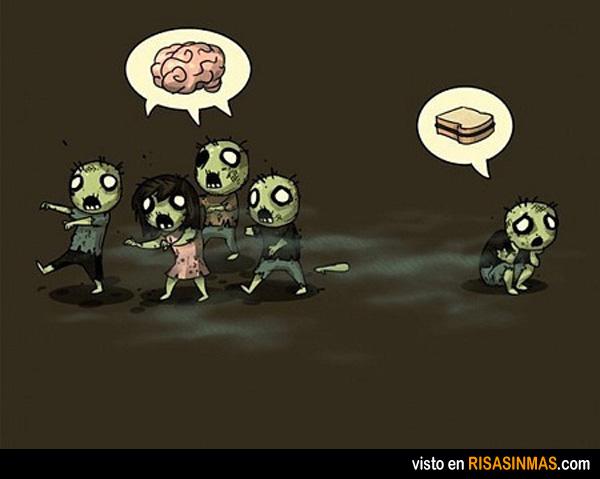 Un zombie diferente