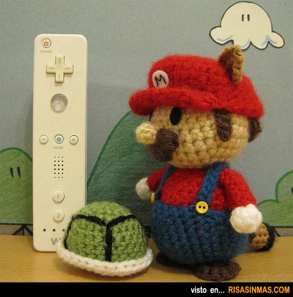 Amigurumi de Mario Bros