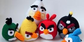 Amigurumis de Angry Birds
