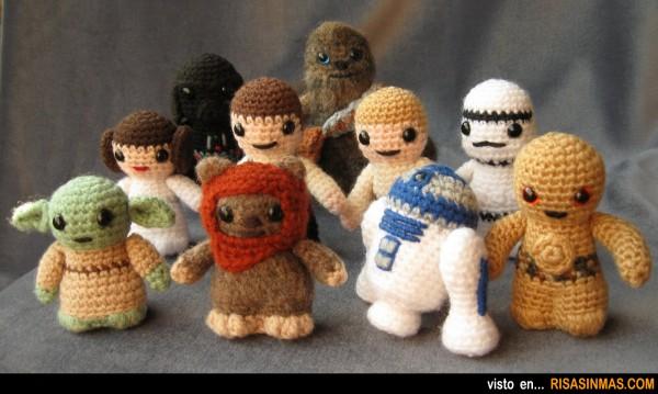 Amigurumis de Star Wars