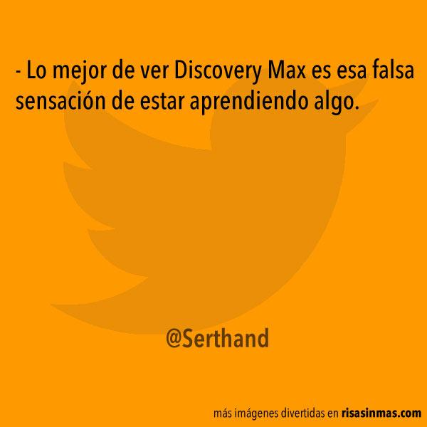 Aprendiendo con el Discovery Max