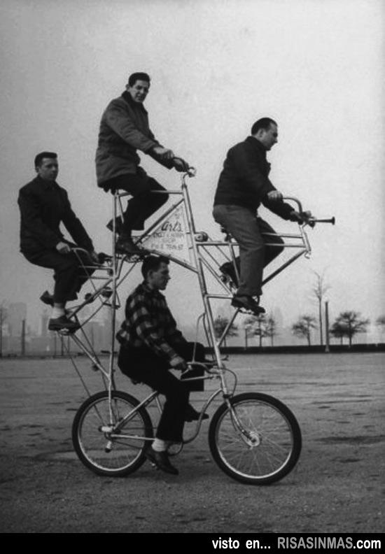 Bicicleta para cuatro