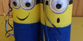 Botellas de refrescos Minion