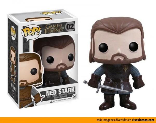 Cabezón Funko: Ned Stark de Juego de Tronos