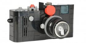 Cámara de fotos Leica hecha con LEGO