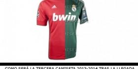 Camiseta del Real Madrid 2013-2014